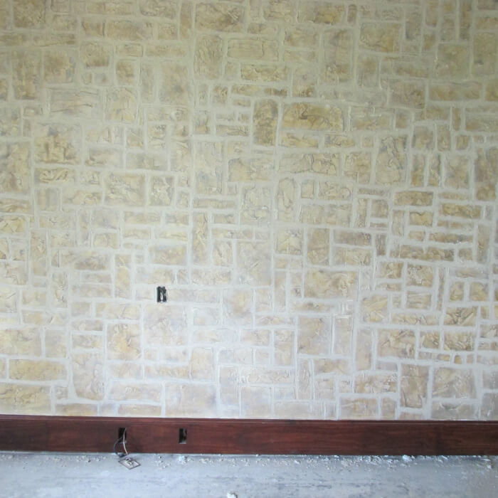 Bedroom Wall / Stone / Plaster Stucco
